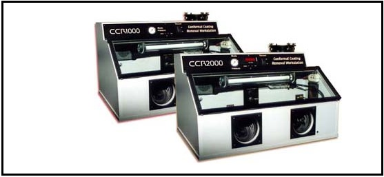 conformal removal machine