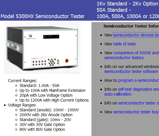 semiconductor tester