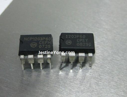 ncp1203p60 datasheet