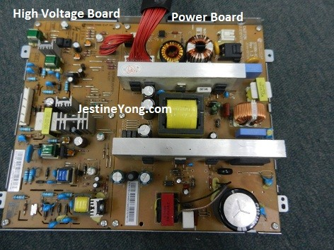 samsung ml4050n laserjet printer power board
