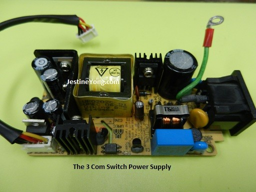 3 com power supply