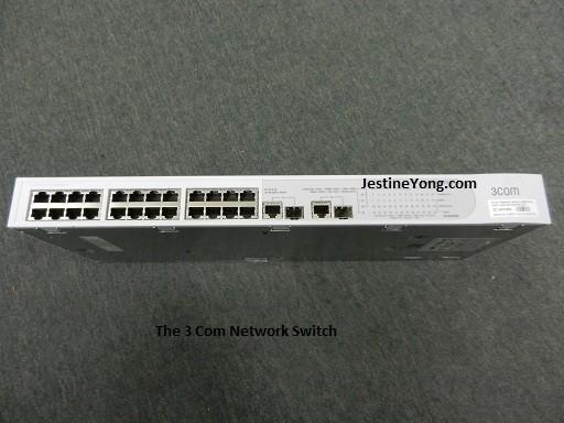 3 com switch