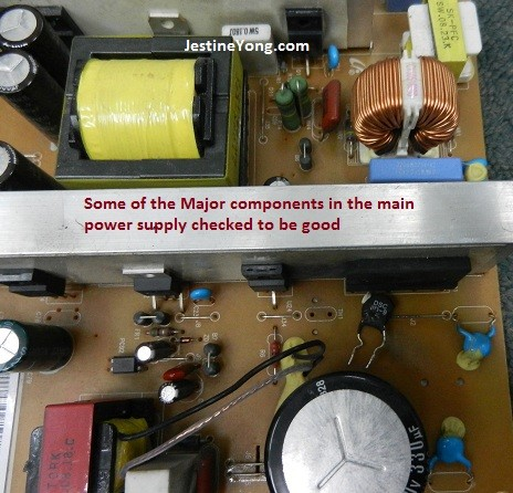 samsung ml4050n laserjet  circuit boad