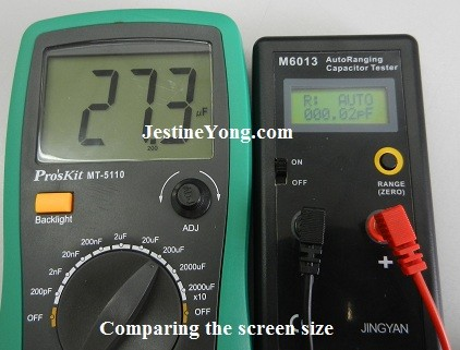 review jingyan m6013 autoranging digital capacitance meter circuit board
