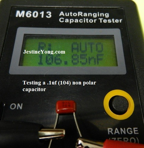review jingyan m6013 autoranging digital capacitance meter