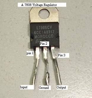 ic voltage regulator 7808