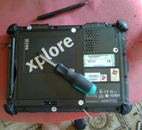 repair tablet