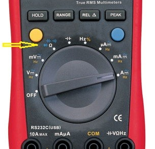 diode test range