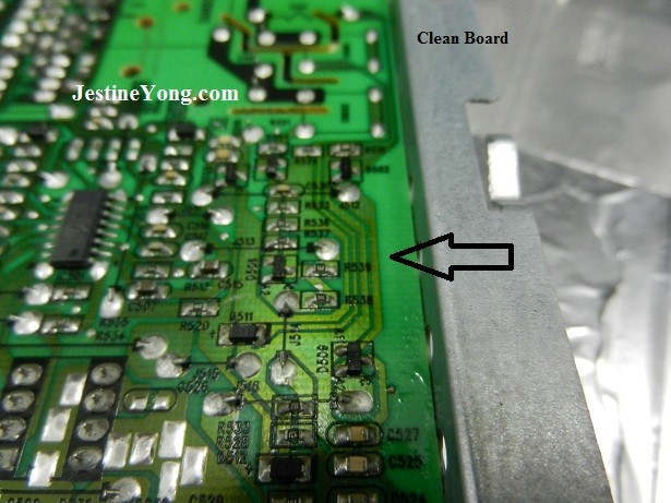clean circuit board