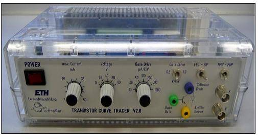 Curve Tracer Kit : Diy transistor curve tracer do it your self