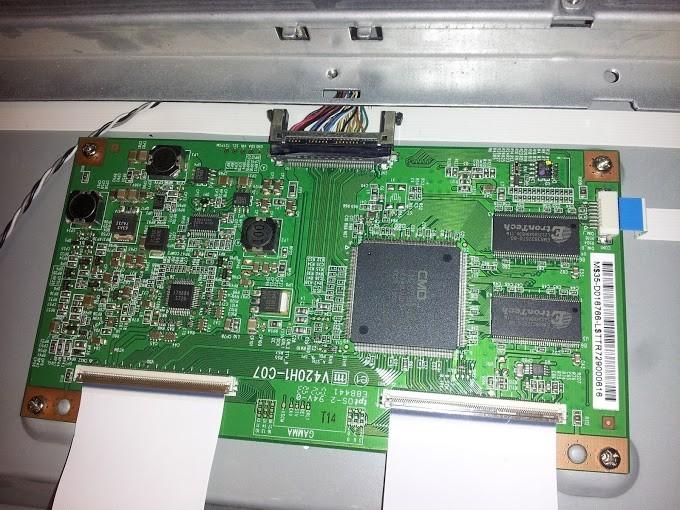lcd tv t-con board
