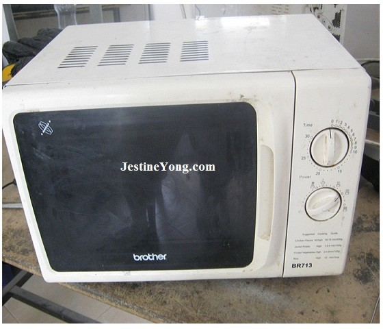 Microwave Oven With No Heat Problem Repaired Model