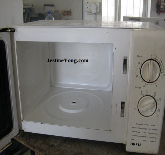 how to repair microwave oven