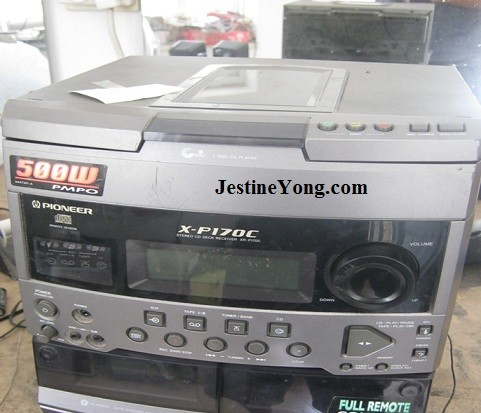pioneer cd player repair