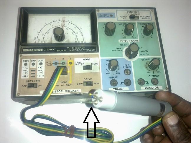 transistorcheckerprobe