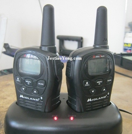 walkie talkie repair