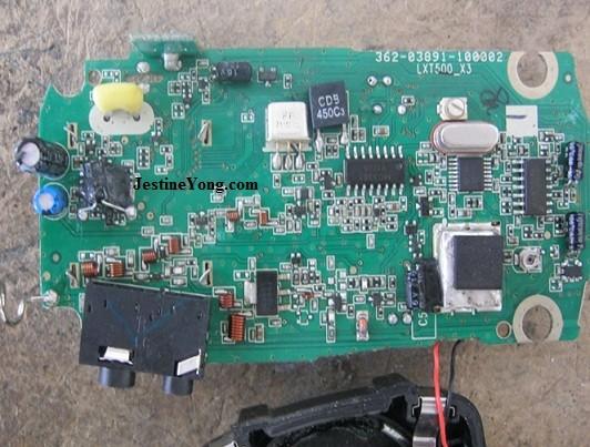 walkie talkie repairing