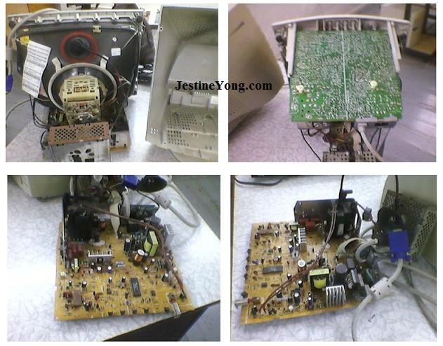 crt monitor repair