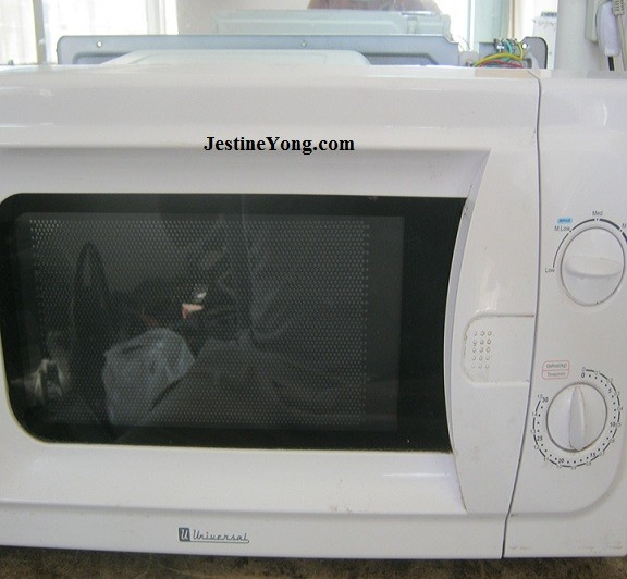 A Dead Universal Microwave Oven Repaired Model Uni 2040