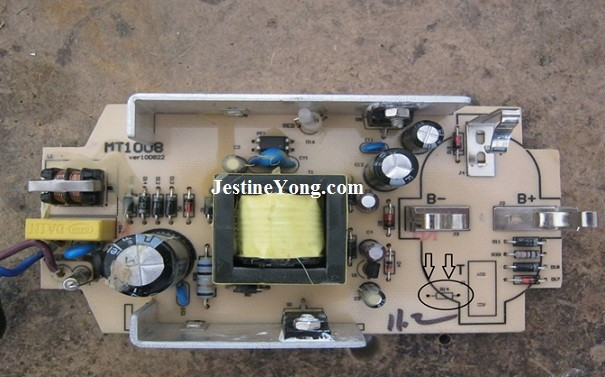 battery charger repairing