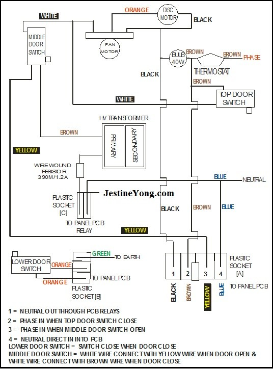 [SCHEMATICS_4LK]  Wiring Diagram Of Samsung Microwave Oven | Electronics Repair And  Technology News | Fax Machine Wiring Diagram |  | Jestine Yong