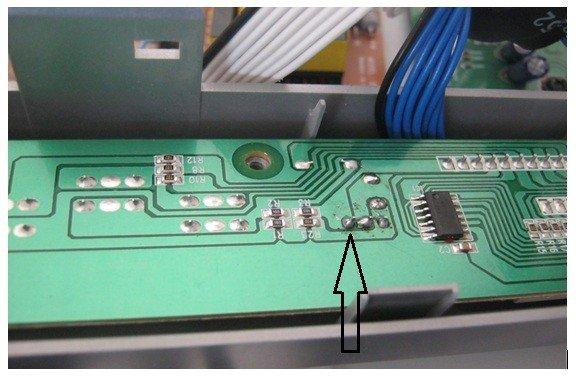 reparación receptor de satélite