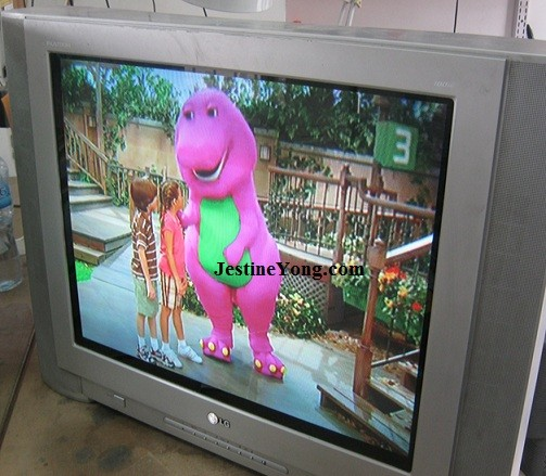LG CRT TV with picture problem repaired  Model: RT-29FA34RB