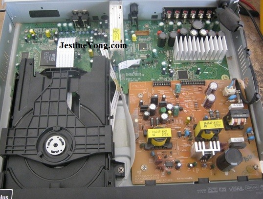 An Lg Dvd Receiver Repaired Model Ht302 Electronics