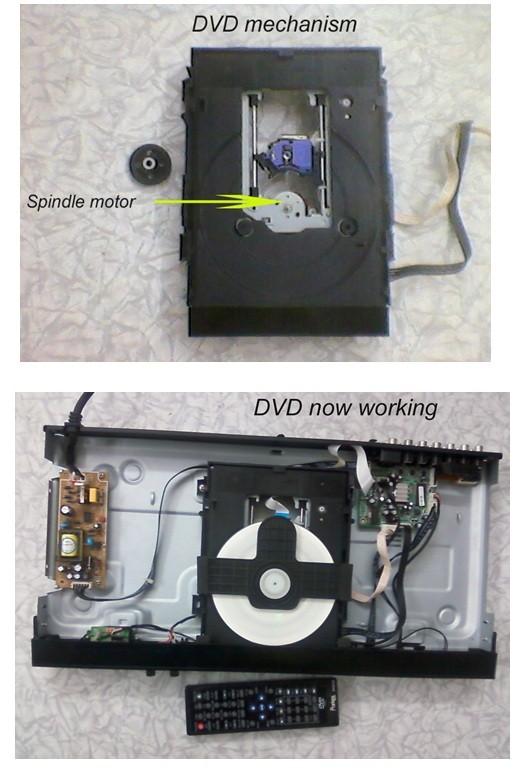 dvd repairs