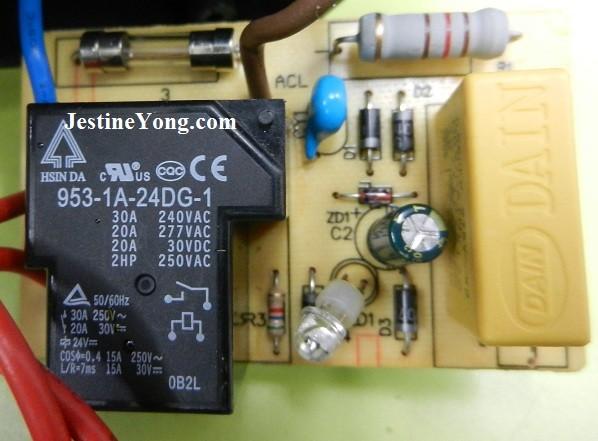 power saver circuit board