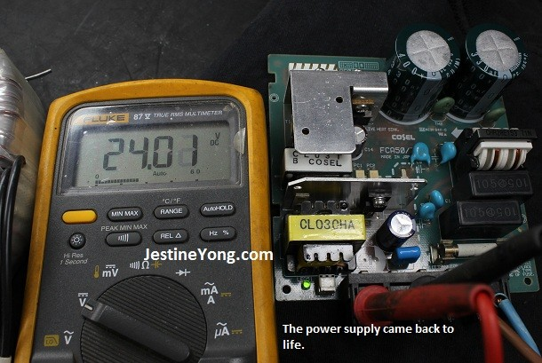 24 v power supply repair