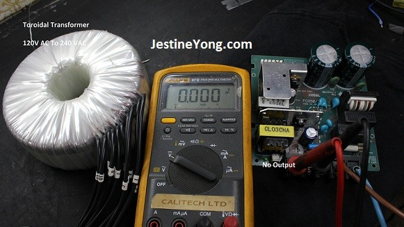 24 volt power supply repairs