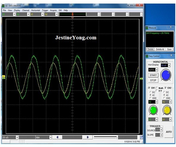 inductor waveform