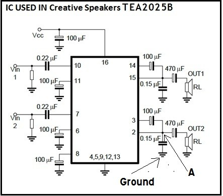 computerspeakersystemrepair1 stereo speakers repair electronics repair and technology news Parallel Speaker Wiring Diagram at nearapp.co