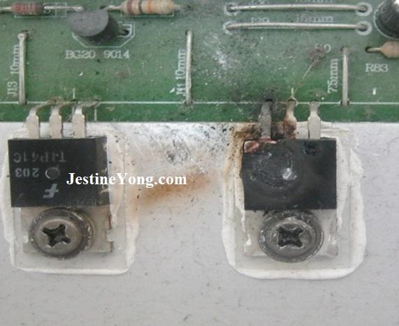 repairings amplificador