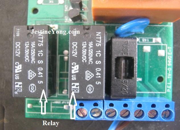 controlador de puerta de reparación
