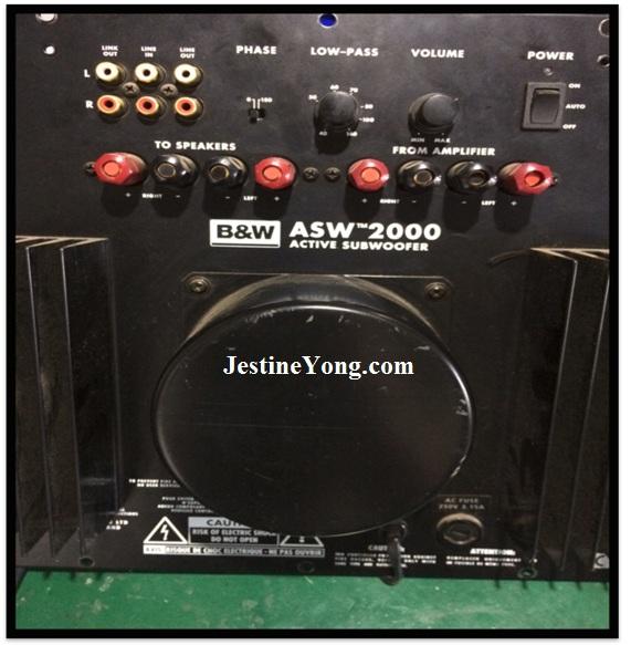 subwoofer amp repair