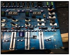 audio mixer repairing