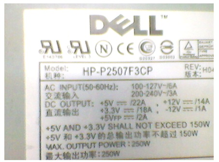 DELL smps repair
