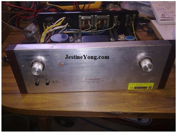 pioneer amplifier repair