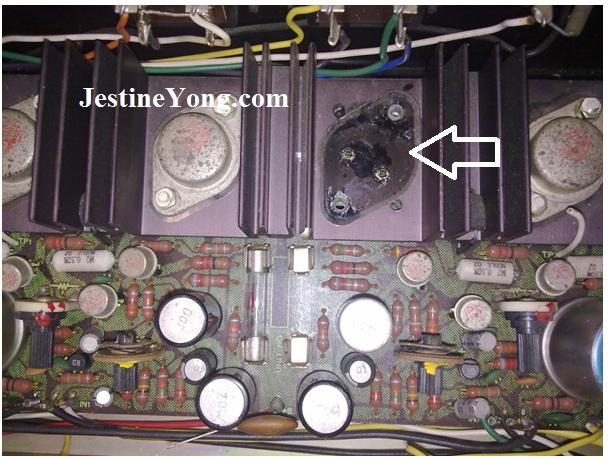 pioneer amplifier repairings