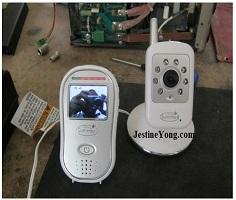video baby monitor repair