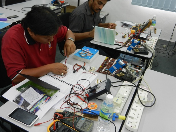 electronic repair courses malaysia