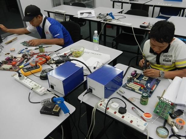 how to use smd rework station