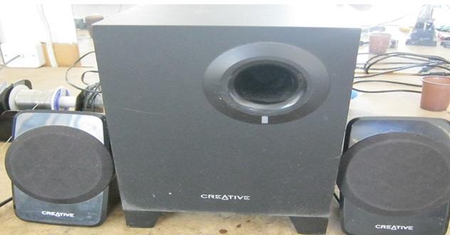 computer speaker system repair