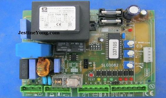 gate control board repair