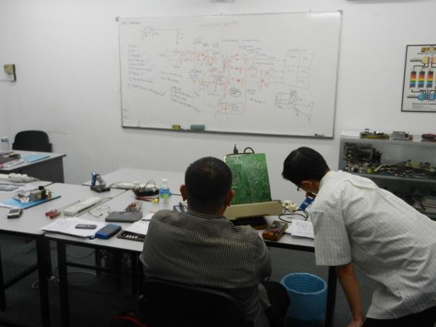 kursus baiki elektronik