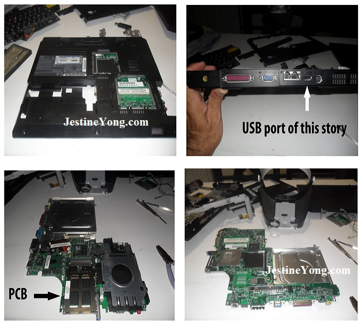 laptop usb port repairs