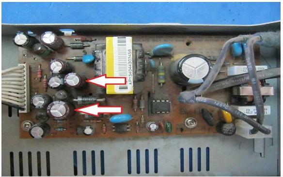 satellite receiver repairing