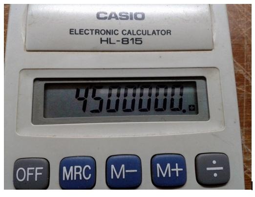 calculator repairing